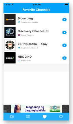 GOTv: Watch live international TV channels